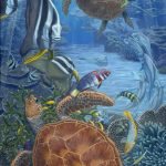 green_turtles_and_batfish_dailan_pugh_2007_resize